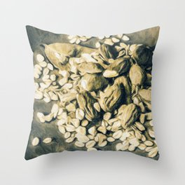 Contrast the thoughts Throw Pillow