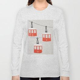 Barcelona Cable Cars Long Sleeve T-shirt