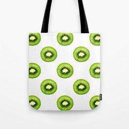 Kiwi Fruit Slice Tote Bag
