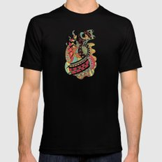 Carousel LARGE Mens Fitted Tee Black