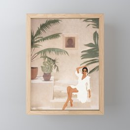 Graceful Resting II Framed Mini Art Print