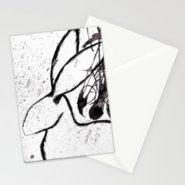 Black Rabbit Stationery Cards