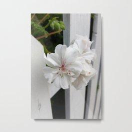 shades of white Metal Print