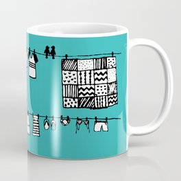 Laundry Doodle Kaffeebecher