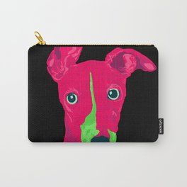 italian greyhound - blk Carry-All Pouch