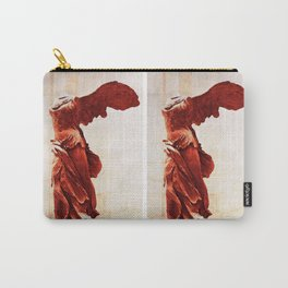 Winged Victory In The Louvre Carry-All Pouch