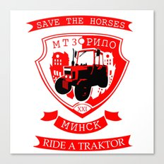 traktor Canvas Print