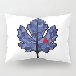 MAPLE LEAF IN BLUE Pillow Sham
