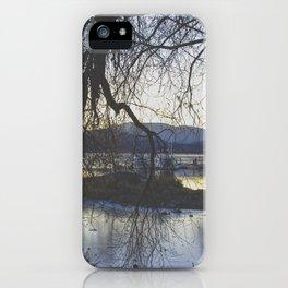 Hidden Lake iPhone Case