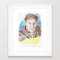 starlord Framed Art Prints featuring Starlord by LK'sArts
