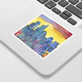 Philadelphia Skyline Sticker