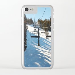 Ride along Clear iPhone Case