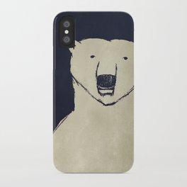Polar Bear - Stars Up Above iPhone Case