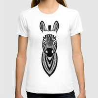 zebra T-shirts featuring Zebra by Art & Be