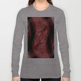 Balanced Red Long Sleeve T-shirt