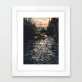 The Sandy River II Framed Art Print