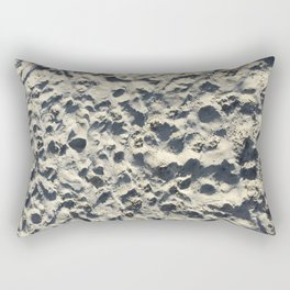 sandy beach Rectangular Pillow