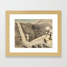 Non Sense Framed Art Print