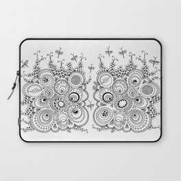 Dragonfly doodle Laptop Sleeve
