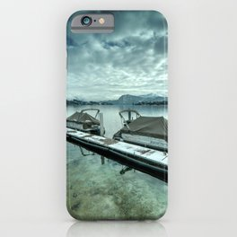 Lake Lucerne Jetty iPhone Case