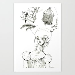 Bird's Nest Art Print