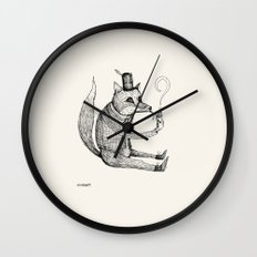 'Theories' (Sketch) Wall Clock