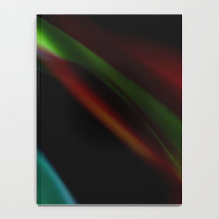Colored Flames Notebook