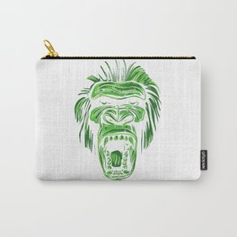 GORILLA KING KONG - Green Carry-All Pouch