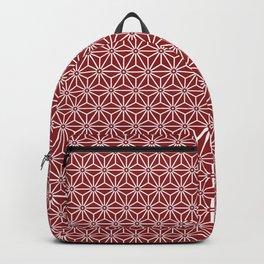 Japanese Yukata Jinbei Asanoha shinshu Backpack