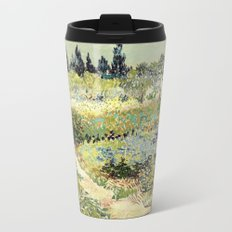 Vincent Van Gogh : Garden at Arles Travel Mug