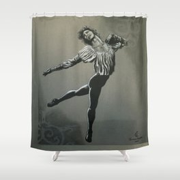 The Lament of Romeo Shower Curtain