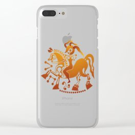 Boudicca takes the reigns. Clear iPhone Case
