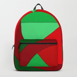 Christmas Wheel Backpack