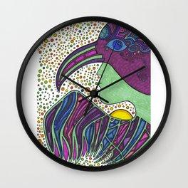 Bird Medicine 3 - Series Wall Clock