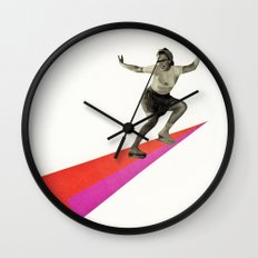 Skate the Day Away Wall Clock