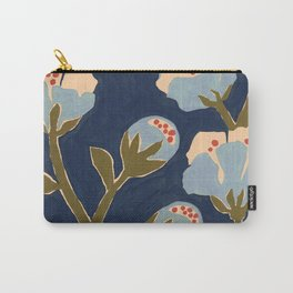 Blue Perennial Carry-All Pouch