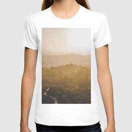 Golden Hour - Los Angeles, California T-shirt