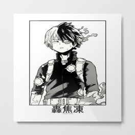 Todoroki Shōto Metal Print