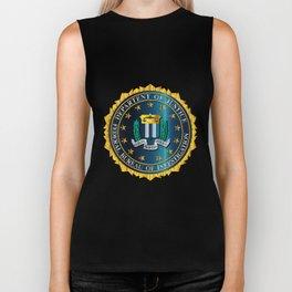FBI Seal Mockup Biker Tank