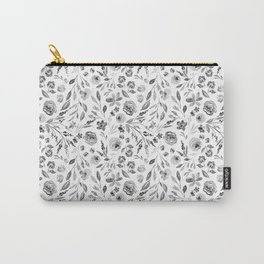 Indy Bloom Farm house florals Carry-All Pouch