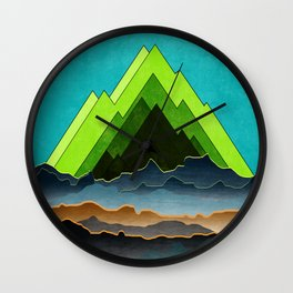 Mystery Planet Wall Clock