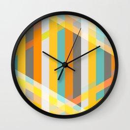 DecoStripe Wall Clock