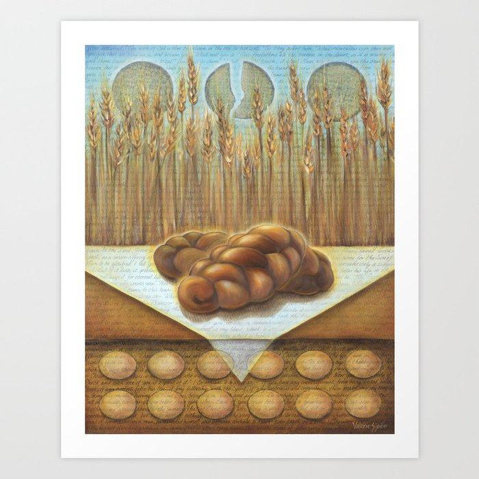 I AM the Bread of Life Art Print