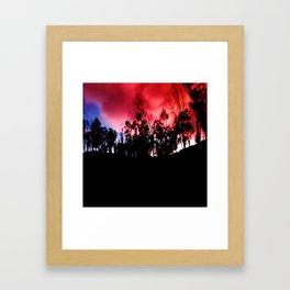 Intense mountain. Framed Art Print