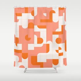 Puzzle Tiles #society6 #pattern Shower Curtain