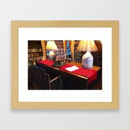Pearl S Buck Library Framed Art Print
