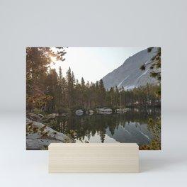 Sierra Lake Sunrise Mini Art Print