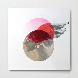 Space flight Metal Print