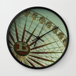 Random big wheel Wall Clock