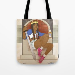 Queen of Swords - Azealia Banks Tote Bag